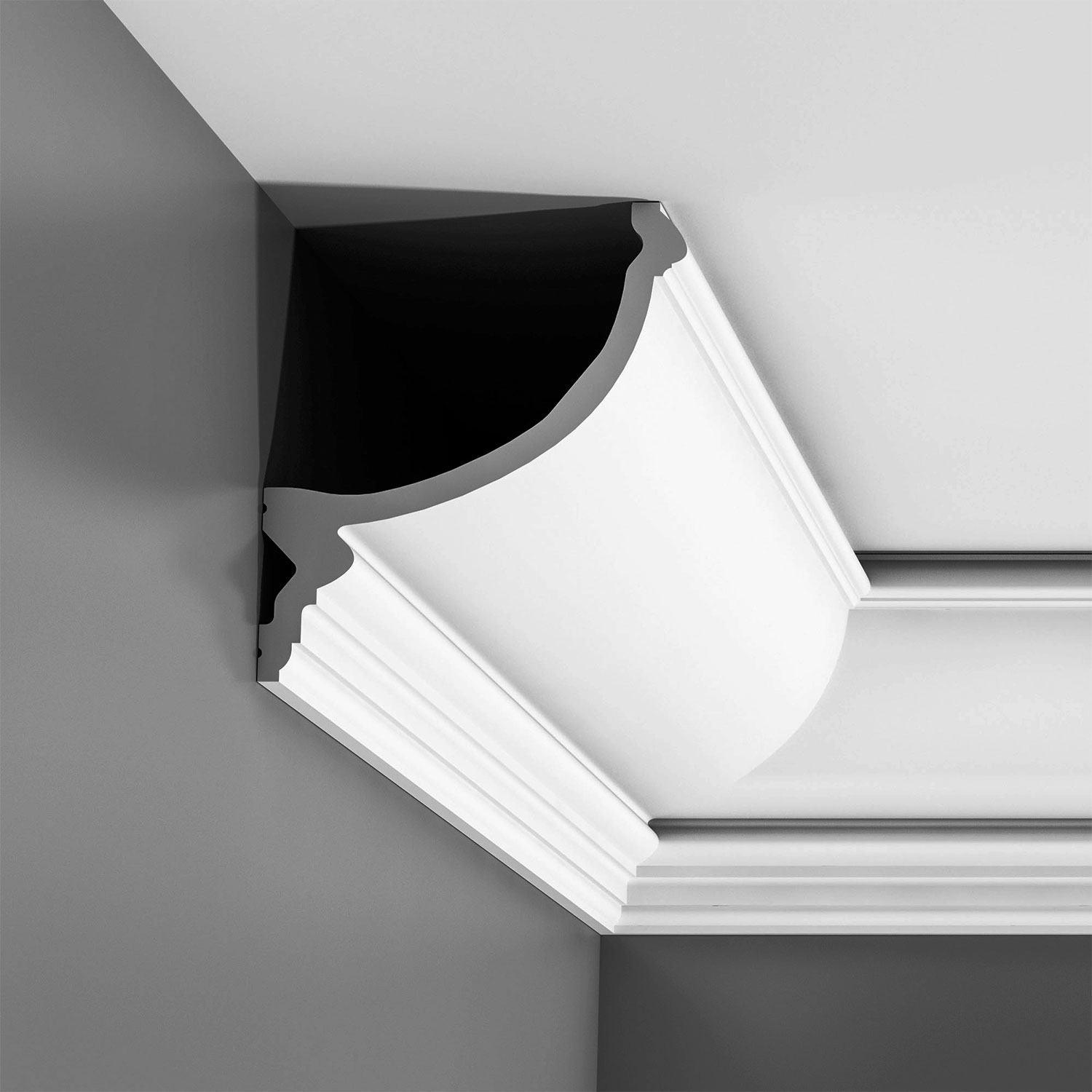 Crown Moulding for Indirect Lighting| LED Cornice Lighting