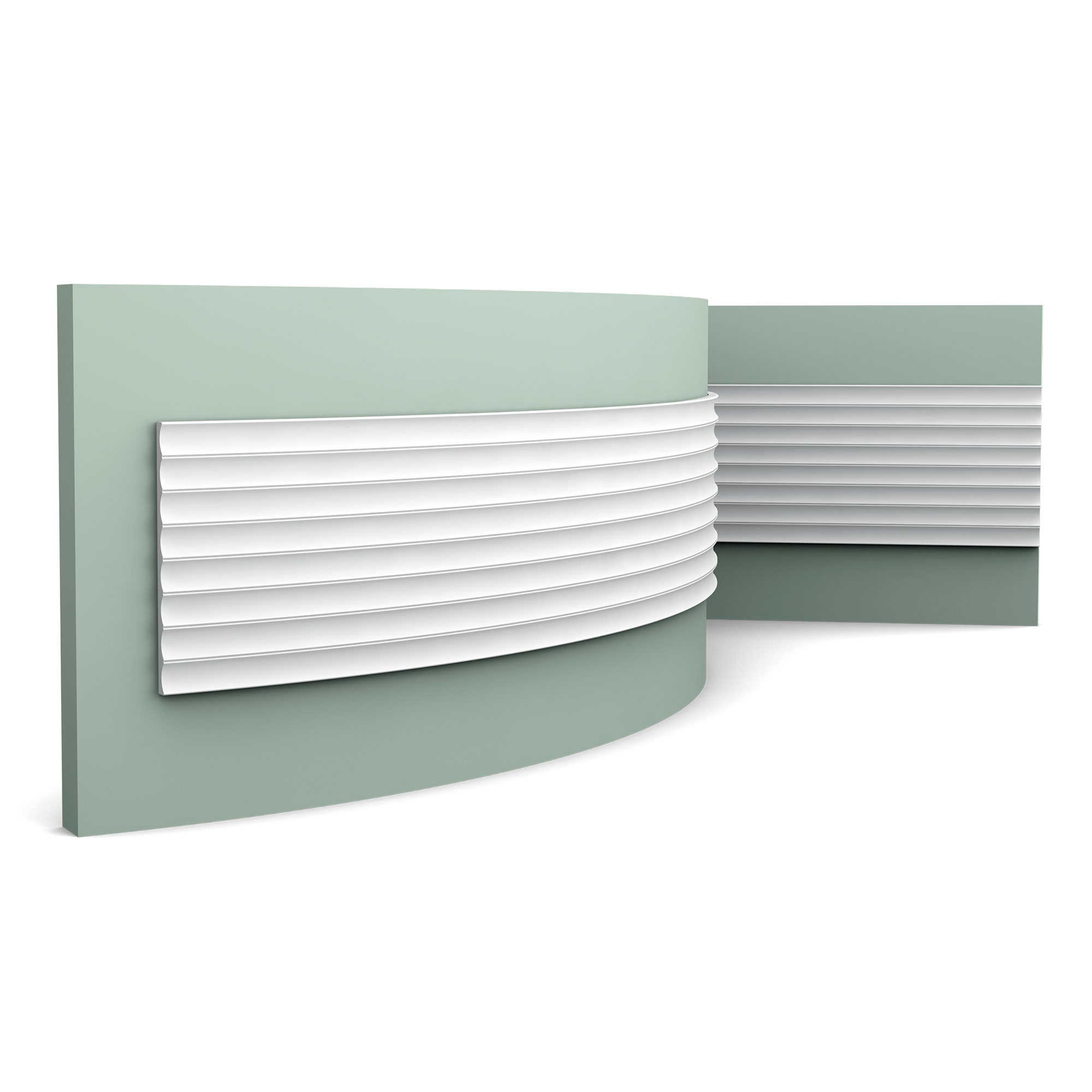 Flexible 3D Valley Wall Panel