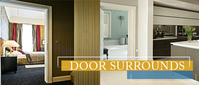 Door surrounds easily installed mouldings by orac decor usa - Decorative exterior door pediments ...