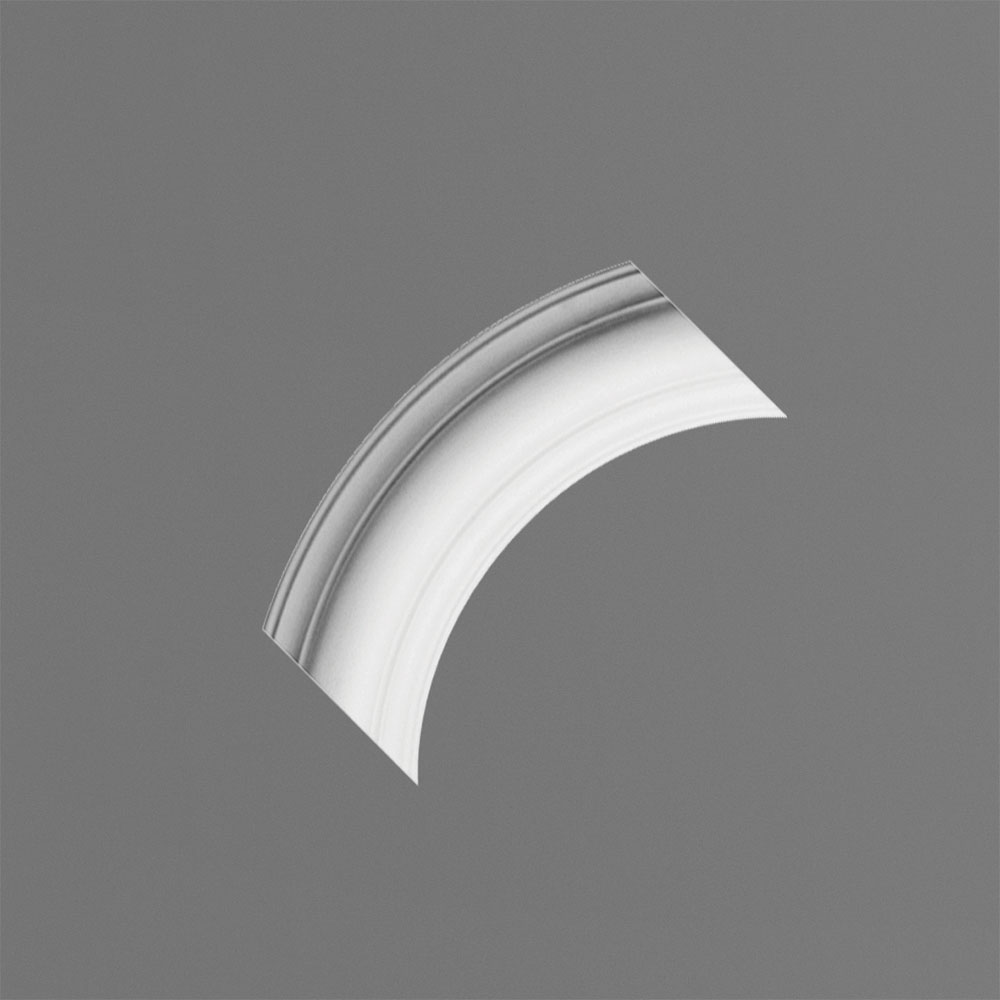 Decorative Curve for Panel Moulding